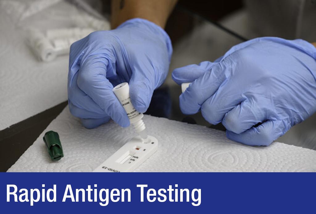 Covid 19 rapid antigen testing